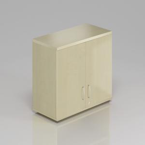 Kancelářská skříň nástavbová Komfort, 80x38,5x75 cm, dveře 2/2 - SN282 12