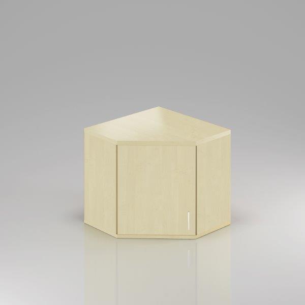 Kancelářská skříň rohová Komfort, 80x80x75 cm, dveře 2/2  - SNR282 12