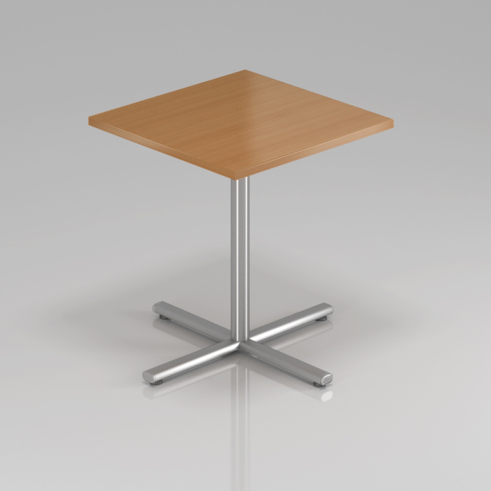Konferenční stůl Komfort, kovová podnož, 70x70x76 cm - SPR34 11