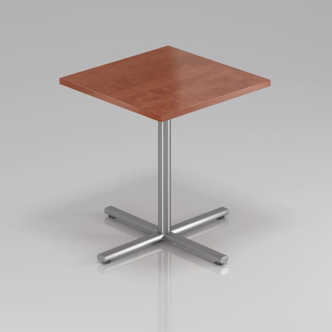 Konferenční stůl Komfort, kovová podnož, 70x70x76 cm - SPR34 03