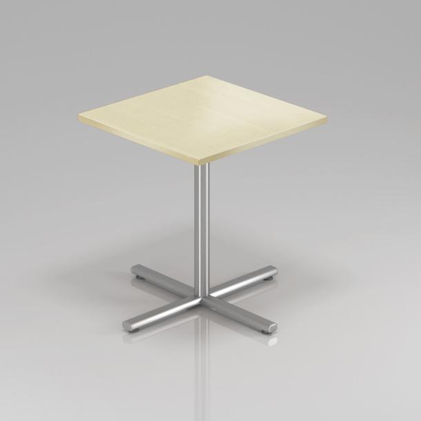 Konferenční stůl Komfort, kovová podnož, 70x70x76 cm - SPR34 12