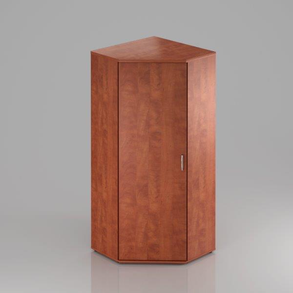 Kancelářská skříň rohová Komfort, 80x80x183,5 cm, dveře 5/5  - SR585 03