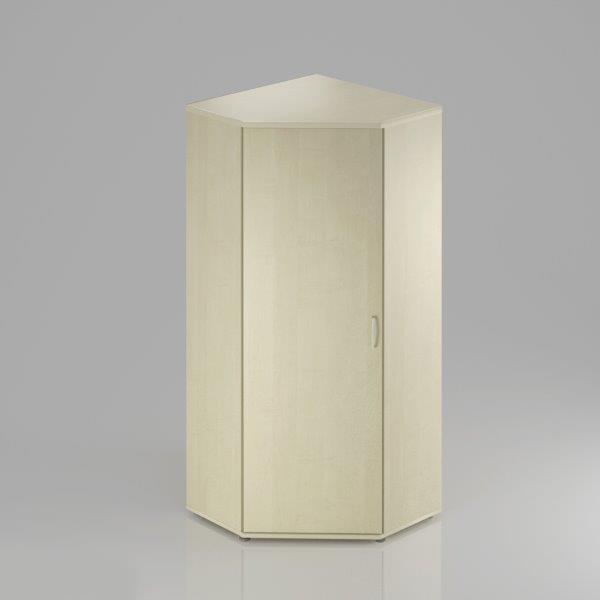Kancelářská skříň rohová Komfort, 80x80x183,5 cm, dveře 5/5  - SR585 12
