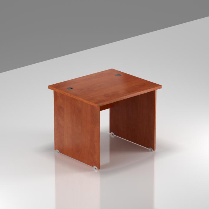 Kancelářský stůl Komfort, dřevěná podnož, 80x70x76 cm - BKA08 03