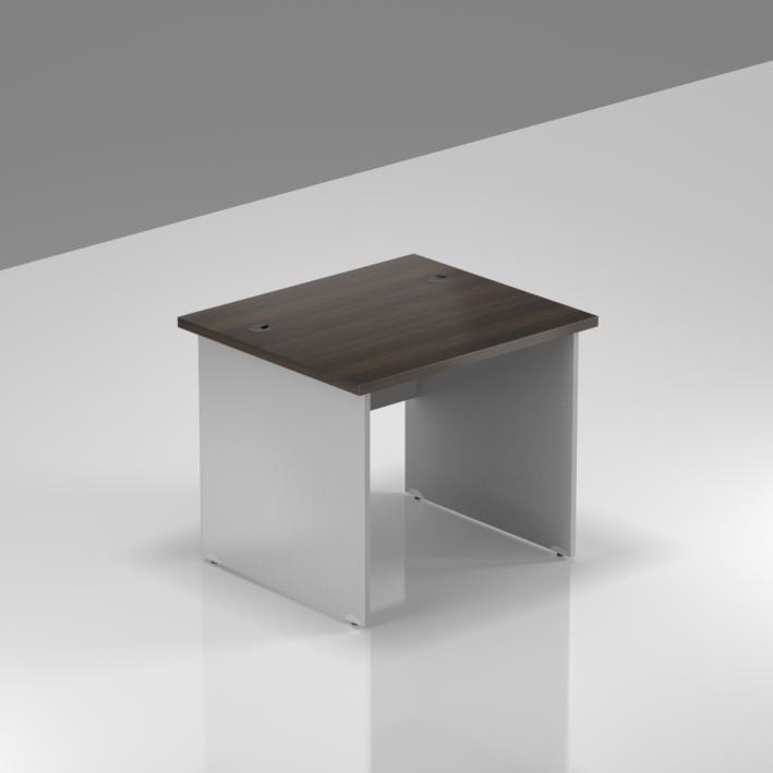 Kancelářský stůl Komfort, dřevěná podnož, 80x70x76 cm - BKA08 07
