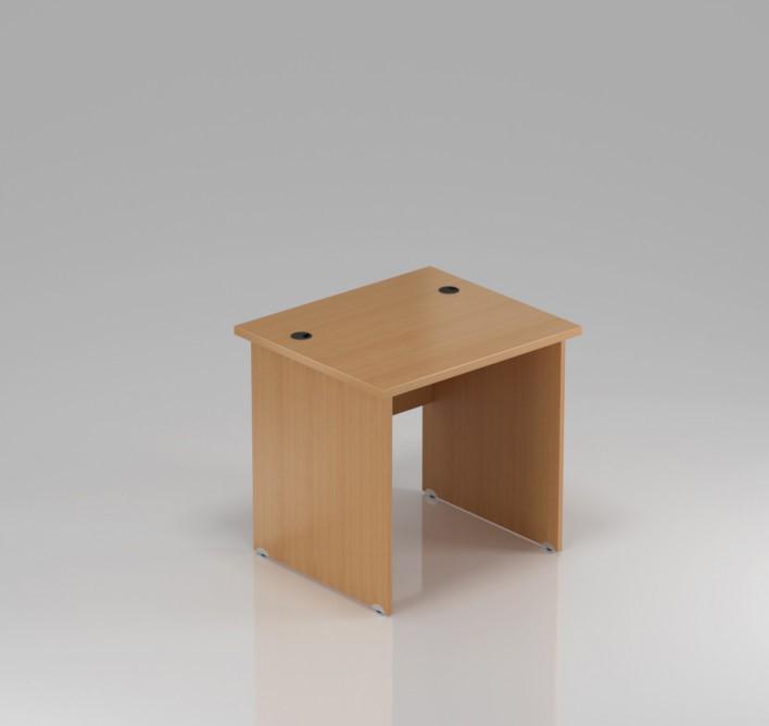 Kancelářský stůl Komfort, dřevěná podnož, 80x70x76 cm - BKA08 11