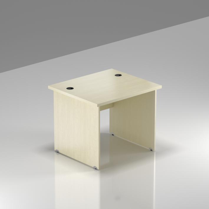 Kancelářský stůl Komfort, dřevěná podnož, 80x70x76 cm - BKA08 12