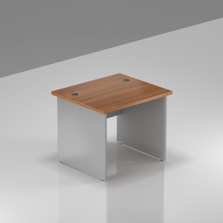 Kancelářský stůl Komfort, dřevěná podnož, 80x70x76 cm - BKA08 19