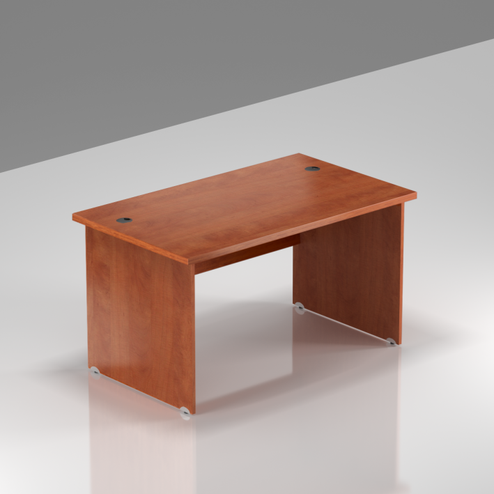 Kancelářský stůl Komfort, dřevěná podnož, 120x70x76 cm - BKA12 03