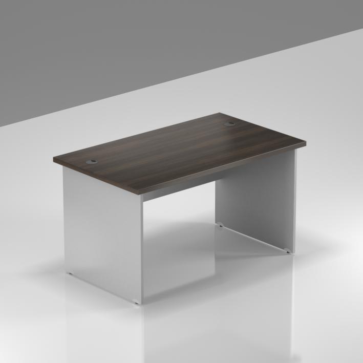 Kancelářský stůl Komfort, dřevěná podnož, 120x70x76 cm - BKA12 07