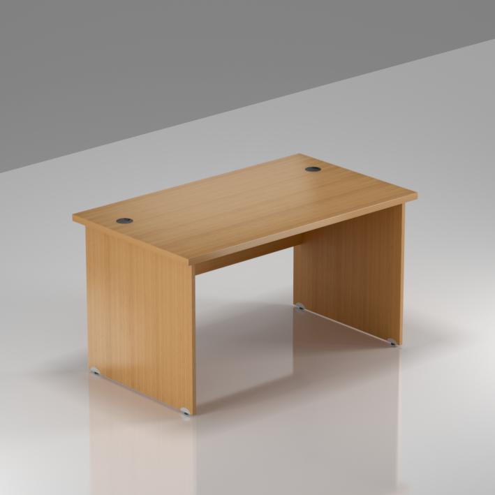Kancelářský stůl Komfort, dřevěná podnož, 120x70x76 cm - BKA12 11