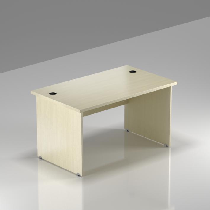 Kancelářský stůl Komfort, dřevěná podnož, 120x70x76 cm - BKA12 12
