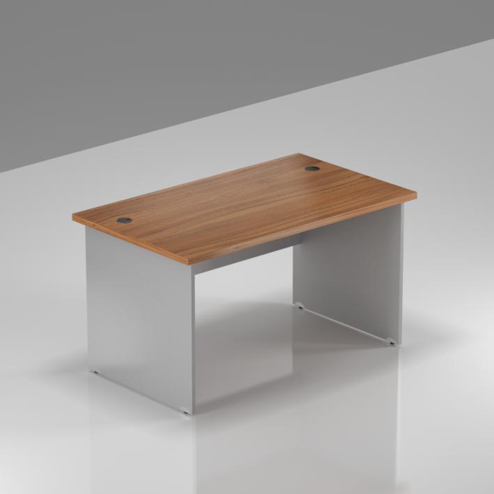 Kancelářský stůl Komfort, dřevěná podnož, 120x70x76 cm - BKA12 19
