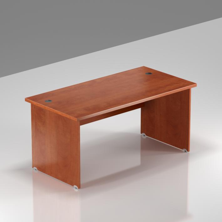 Kancelářský stůl Komfort, dřevěná podnož, 140x70x76cm - BKA14 03