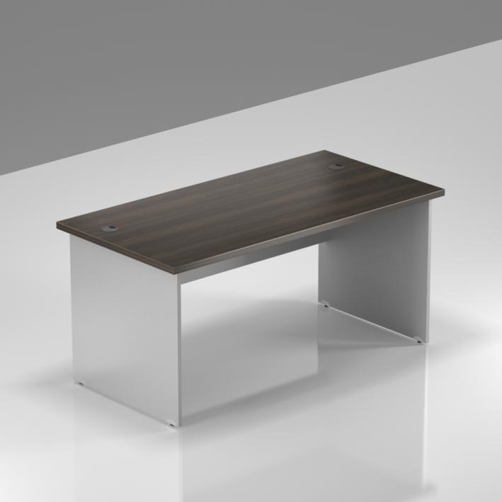 Kancelářský stůl Komfort, dřevěná podnož, 140x70x76cm - BKA14 07