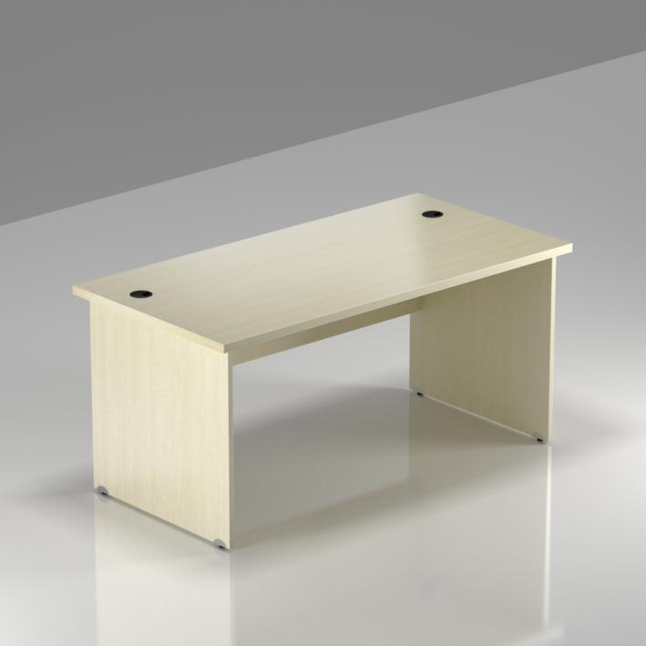 Kancelářský stůl Komfort, dřevěná podnož, 140x70x76cm - BKA14 12