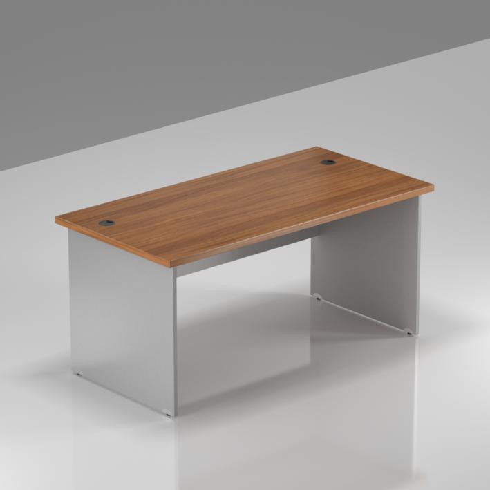 Kancelářský stůl Komfort, dřevěná podnož, 140x70x76cm - BKA14 19