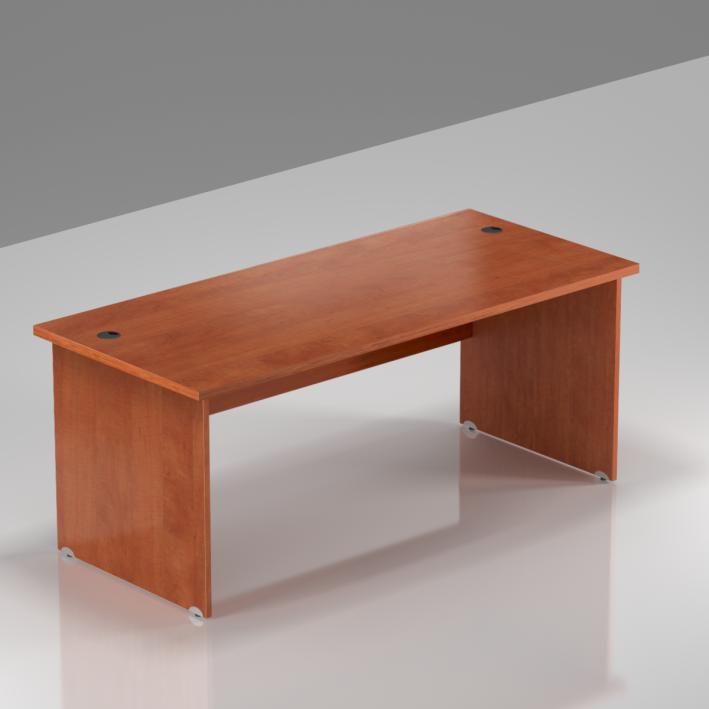 Kancelářský stůl Komfort, dřevěná podnož, 160x70x76 cm - BKA16 03