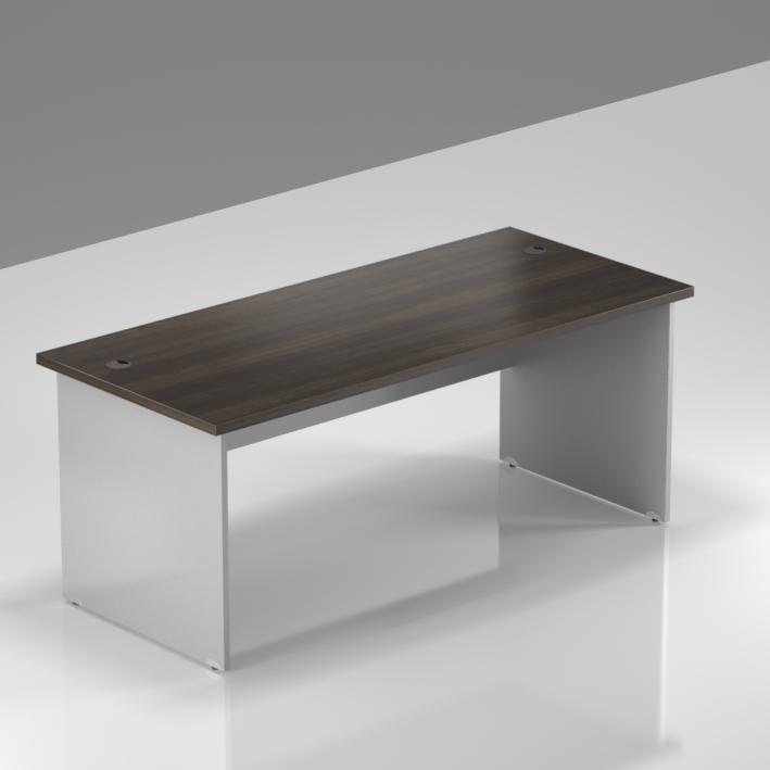 Kancelářský stůl Komfort, dřevěná podnož, 160x70x76 cm - BKA16 07