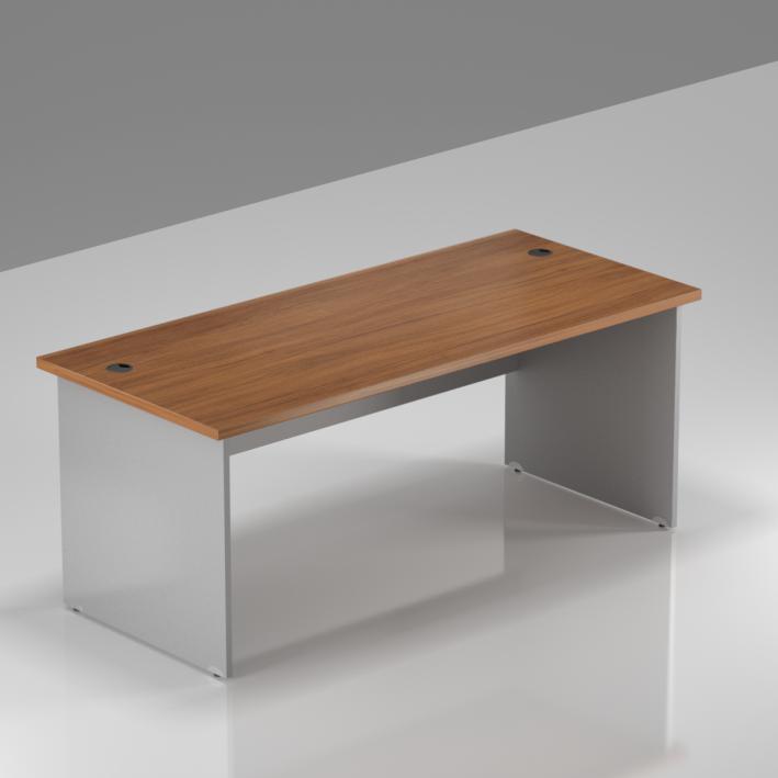 Kancelářský stůl Komfort, dřevěná podnož, 160x70x76 cm - BKA16 19
