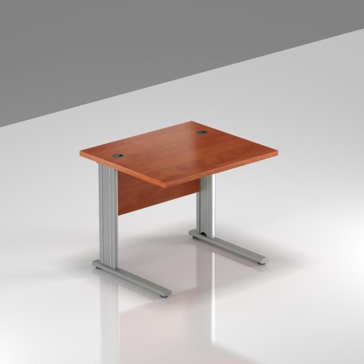 Kancelářský stůl Komfort, kovová podnož, 80x70x76cm - BPR08 03