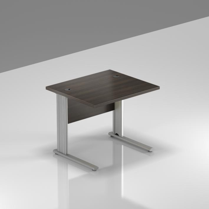 Kancelářský stůl Komfort, kovová podnož, 80x70x76cm - BPR08 07
