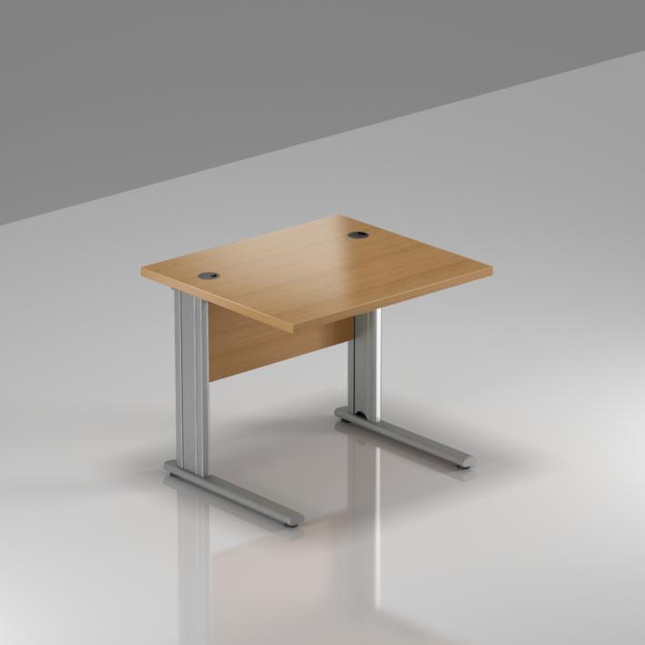 Kancelářský stůl Komfort, kovová podnož, 80x70x76cm - BPR08 11