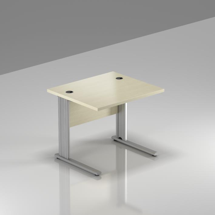 Kancelářský stůl Komfort, kovová podnož, 80x70x76cm - BPR08 12