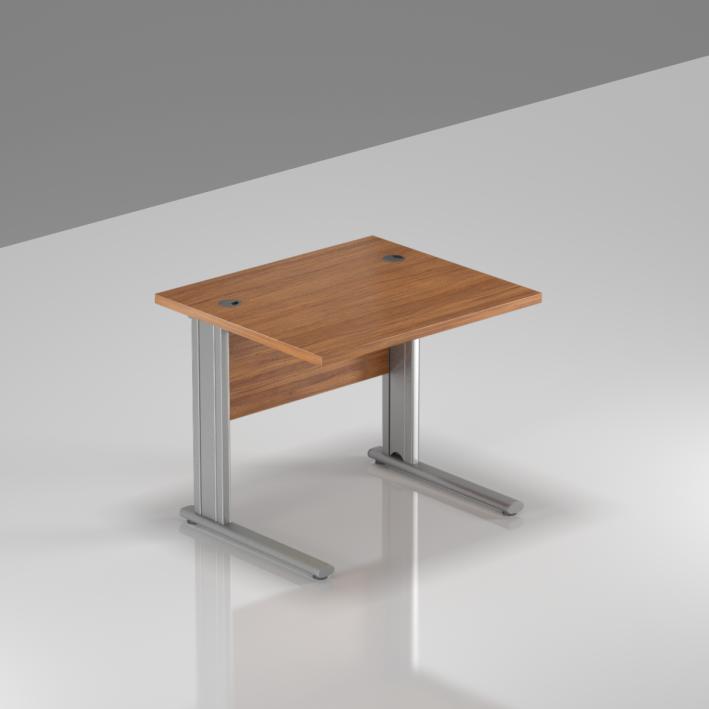 Kancelářský stůl Komfort, kovová podnož, 80x70x76cm - BPR08 19