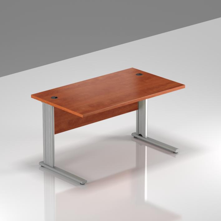 Kancelářský stůl Komfort, kovová podnož, 120x70x76 cm - BPR12 03
