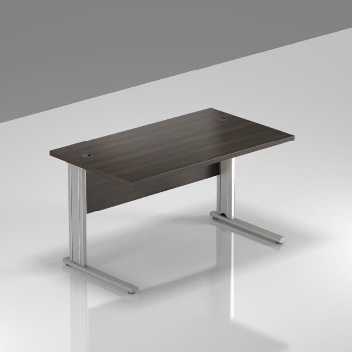 Kancelářský stůl Komfort, kovová podnož, 120x70x76 cm - BPR12 07