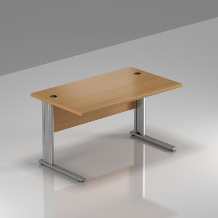 Kancelářský stůl Komfort, kovová podnož, 120x70x76 cm - BPR12 11