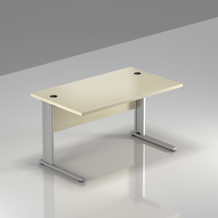Kancelářský stůl Komfort, kovová podnož, 120x70x76 cm - BPR12 12