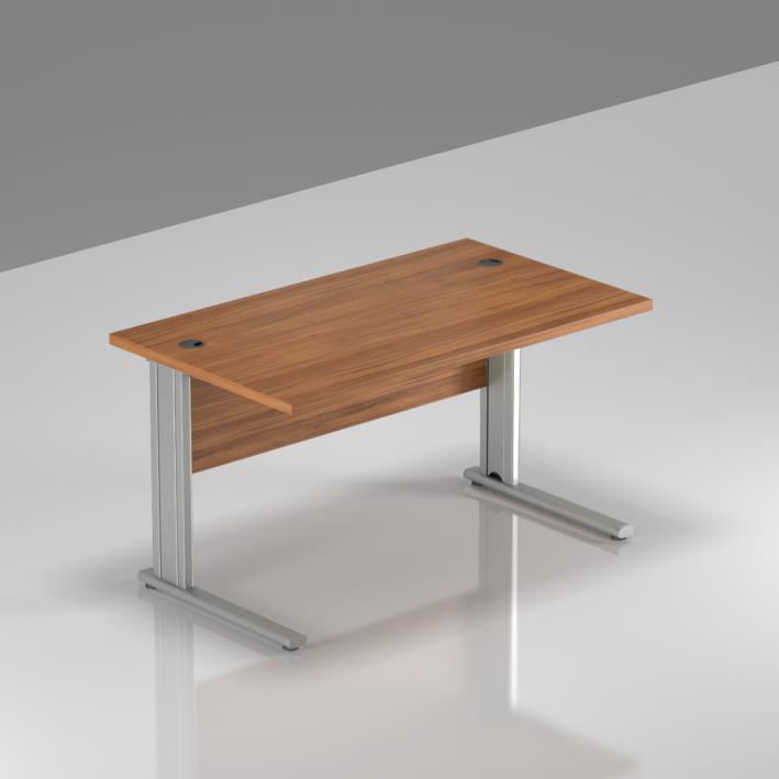 Kancelářský stůl Komfort, kovová podnož, 120x70x76 cm - BPR12 19