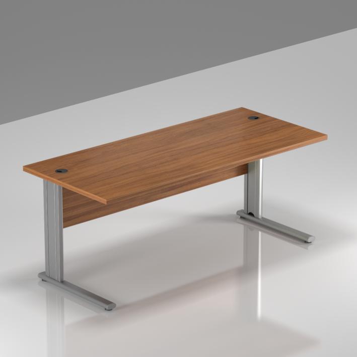 Kancelářský stůl Komfort, kovová podnož, 160x70x76cm - BPR16 19