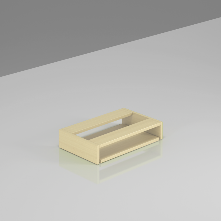 Deska pod stůl pro klávesnici Komfort - BW03 12