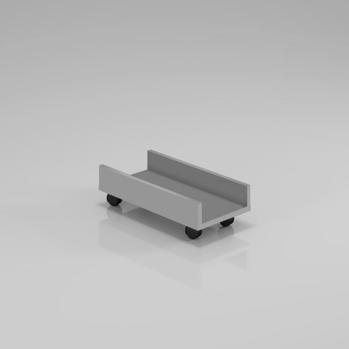 Podstavec pod PC skříň Komfort, 50x25x14,3 cm - KPC01 14