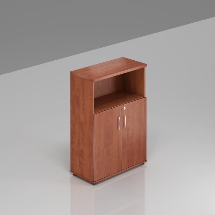 Kancelářská skříň Komfort, 80x38,5x113 cm, dveře 2/3  - S382 03