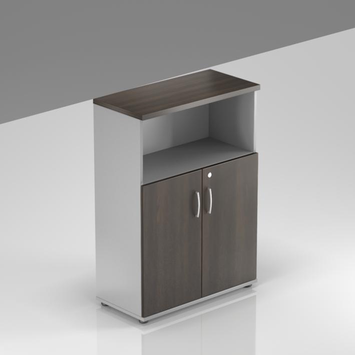 Kancelářská skříň Komfort, 80x38,5x113 cm, dveře 2/3  - S382 07