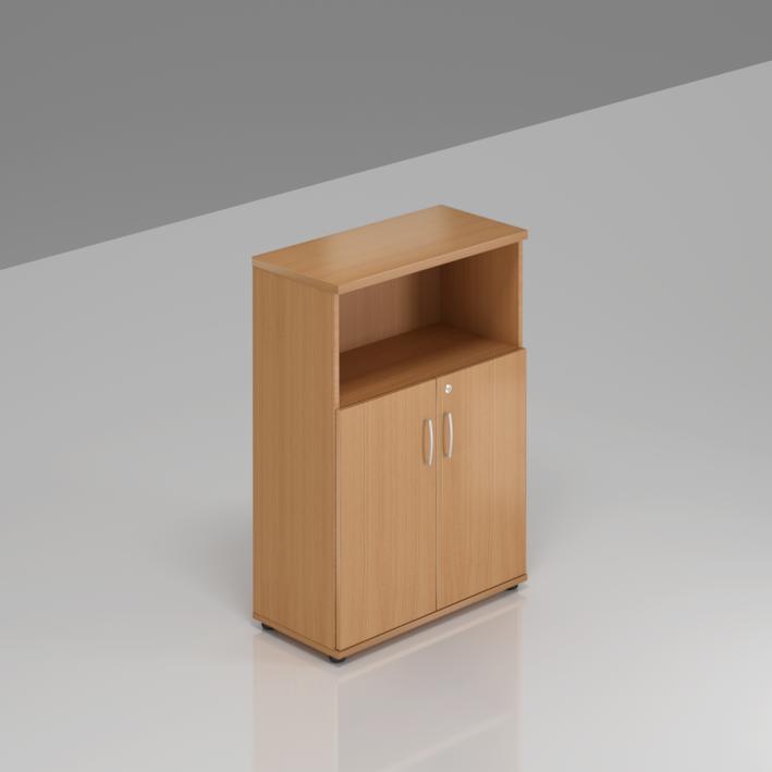 Kancelářská skříň Komfort, 80x38,5x113 cm, dveře 2/3  - S382 11