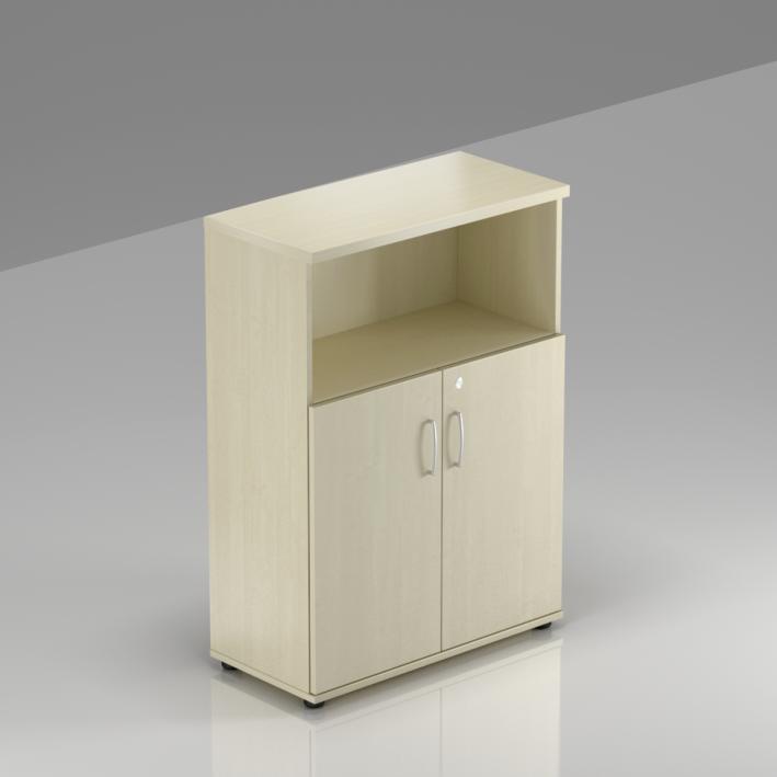 Kancelářská skříň Komfort, 80x38,5x113 cm, dveře 2/3  - S382 12