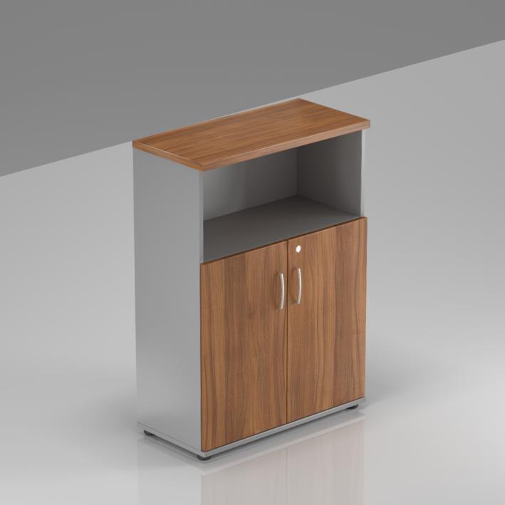 Kancelářská skříň Komfort, 80x38,5x113 cm, dveře 2/3  - S382 19