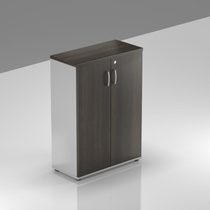 Kancelářská skříň Komfort, 80x38,5x113 cm, dveře 3/3  - S383 07