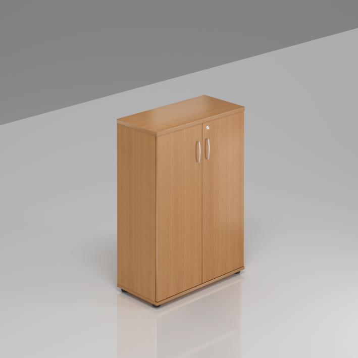Kancelářská skříň Komfort, 80x38,5x113 cm, dveře 3/3  - S383 11