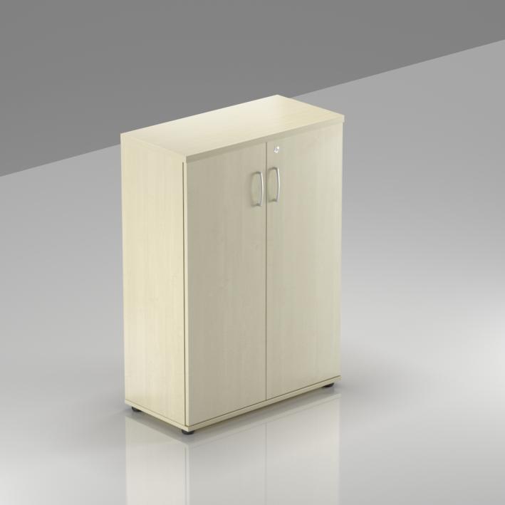Kancelářská skříň Komfort, 80x38,5x113 cm, dveře 3/3  - S383 12