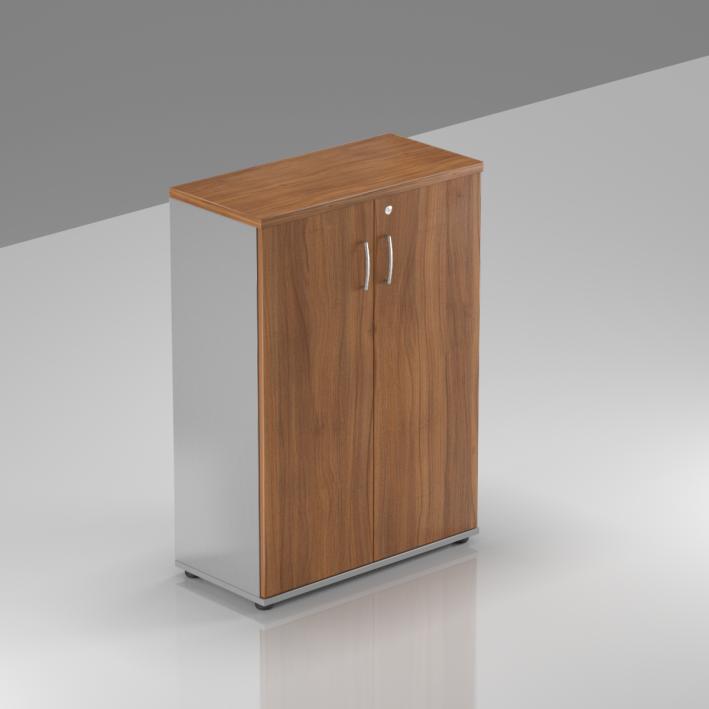 Kancelářská skříň Komfort, 80x38,5x113 cm, dveře 3/3  - S383 19