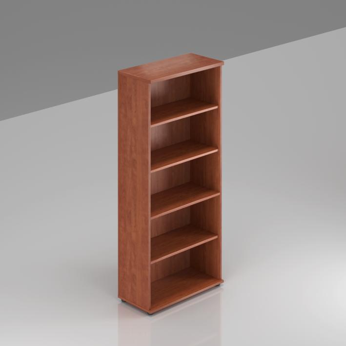 Kancelářský regál Komfort, 80x38,5x183,5 cm, bez dveří  - S580 03