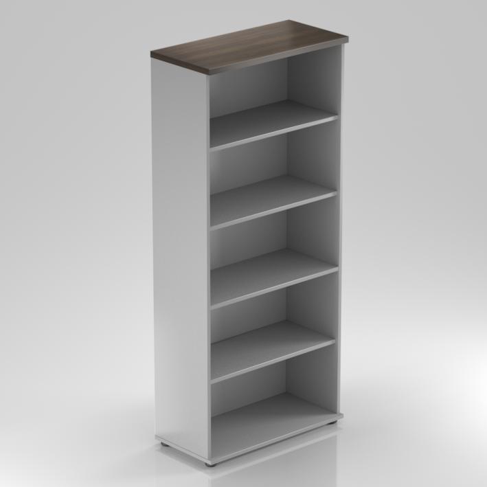 Kancelářský regál Komfort, 80x38,5x183,5 cm, bez dveří  - S580 07
