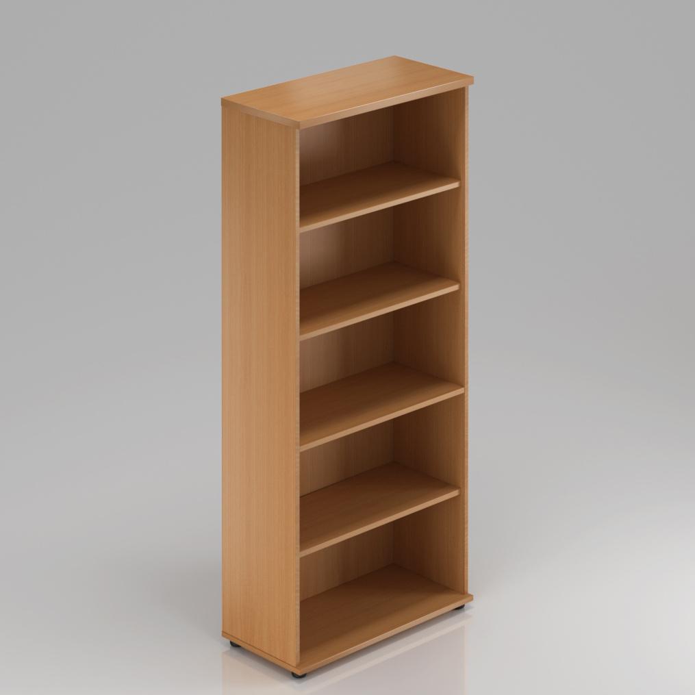 Kancelářský regál Komfort, 80x38,5x183,5 cm, bez dveří  - S580 11