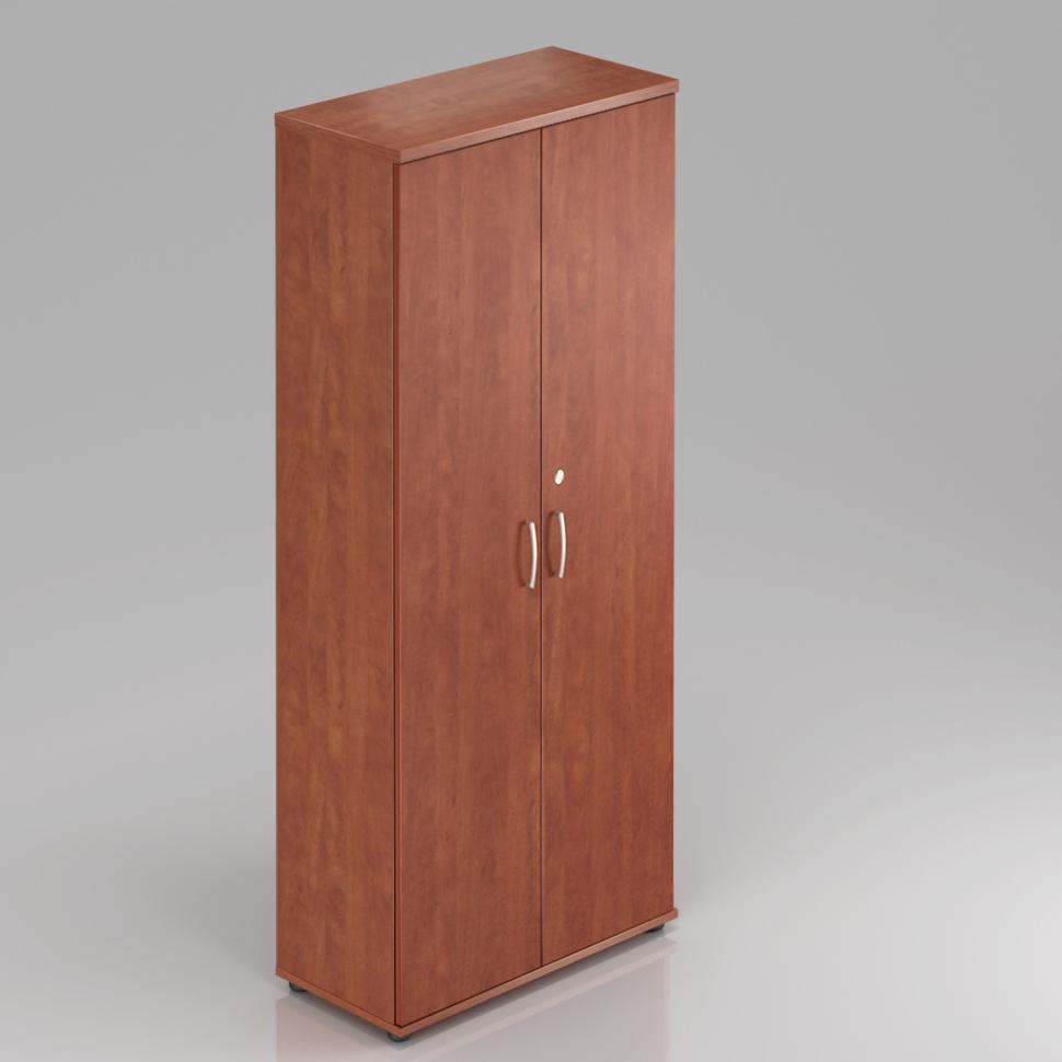 Kancelářská skříň Komfort, 80x38,5x183,5 cm, dveře 5/5  - S585 03